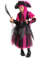 Caribbean Pirate Child Costume - Medium (8)