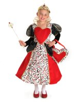 Queen of Hearts Child Costume - Medium (8)