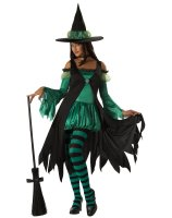 Emerald Witch Teen Costume - Teen (3-5)