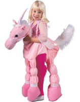 Pink Ride A Unicorn Child Costume - Small (5-7)