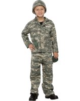 Army Soldier Child Costume - Small (5-7)