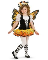 Monarch Butterfly Child Costume - Medium (8/10)