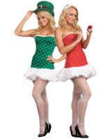 Struck By Luck Reversible CupidLeprechaun Adult Costume