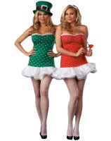 Struck By Luck Reversible CupidLeprechaun Adult Plus Costume