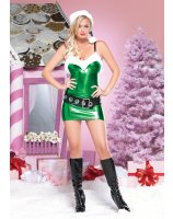 Hot Rod Elf Adult Costume