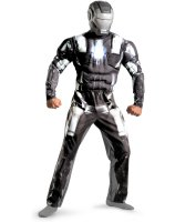 Iron Man 2 Movie - War Machine Classic Muscle Adult