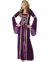 Renaissance Lady Adult Costume - Small/Medium (2-8)