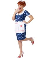 I Love Lucy Sassy Lucy Adult Plus Costume