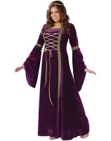 Renaissance Lady Adult Plus Costume - Plus (16W-24W)
