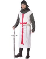 Templar Knight Adult Costume - One Size Fits Most Adults