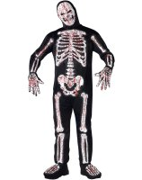 Bloody Skelebones Adult Costume
