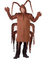 Giant Cockroach Adult Costume - One Size Fits Most Adults