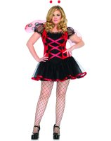 Lovely Ladybug Adult Plus Costume - Plus (1X/2X)