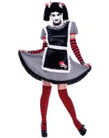 Gothic Rag Doll Adult Costume - Small