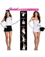 Rabbit In The Hat Trick Quick Change Adult Costume