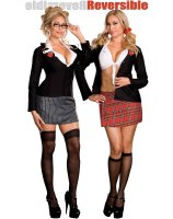 Trouble At School Reversible Adult Plus Costume
