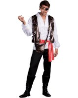 Captain One Eyed Willy Adult Costume