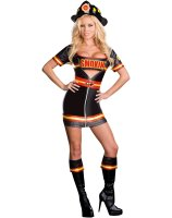 Smokin' Hot Fire Department Woman Adult Costume