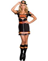 Smokin' Hot Fire Department Woman Adult Plus Costume