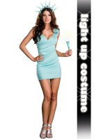 Miss Liberty Adult Costume - Medium