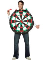 Bullseye! Dartboard Adult Costume