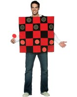 King Me! Checker Board Adult Costume