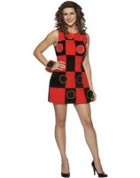 King Me! Checkers Dress Adult Costume