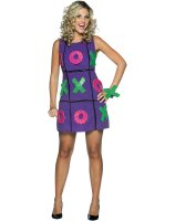 Tic Tac Toe Dress Adult Costume
