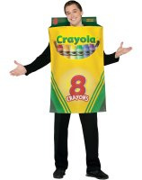 Crayola Crayon Box Adult Costume - One Size Fits Most Adults