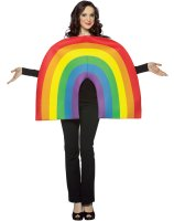 Rainbow Adult Costume - One Size Fits Most Adults