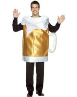 Beer Mug Adult Costume - One Size Fits Most Adults