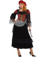 Treasure Pirate Wench Adult Costume - Large