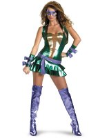 TMNT - Sexy Donatello Purple Deluxe Adult Costume