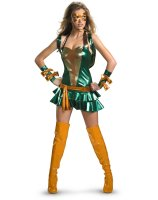 TMNT - Sexy Michelangelo Orange Deluxe Adult Costume