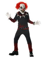 Evil Clown Child Costume - Large (10-12)