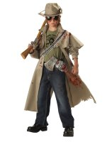Zombie Hunter Child Costume - X-Large (12-14)