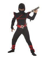 Stealth Ninja Child Costume - Husky (10-12)