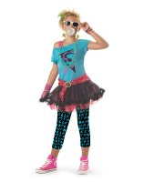 80's Valley Girl Child Costume - X-Large (12-14)