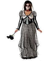 Day Of The Dead Bride Adult Plus Costume