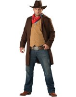 Rawhide Renegade Plus Adult Costume - Plus (2X)