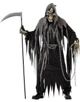 Mr. Grim Horror Robe Adult Costume - One-Size (Standard)
