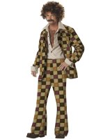 Disco Sleazeball Adult Costume - Large