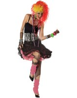 80's Party Girl Adult Costume - Small/Medium