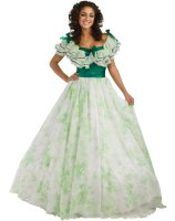 Gone With The Wind - Scarlett Picnic Dress Adult Costume