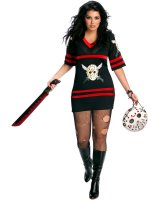 Friday The 13th - Sexy Miss Voorhees Adult Plus Costume - One-Size (Plus)