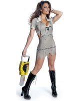 Texas Chainsaw Massacre - Miss Leatherface Adult Costume