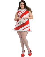 Ms. Candy Cane Adult Plus Costume