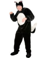 Skunk Adult Plus Costume