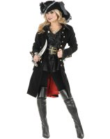 Pirate Vixen Adult Coat - Medium