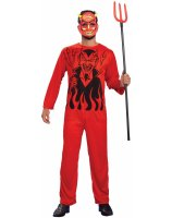 Retro Devil Adult Costume
